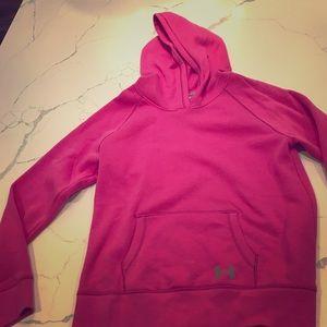 Pink Under Armour Sweatshirt